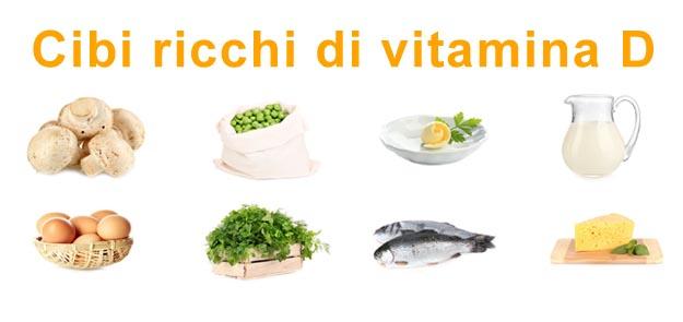 Cibi Vitamina D