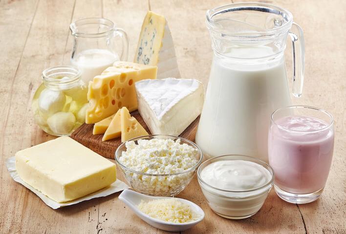 Infiammazione Alimenti latticini