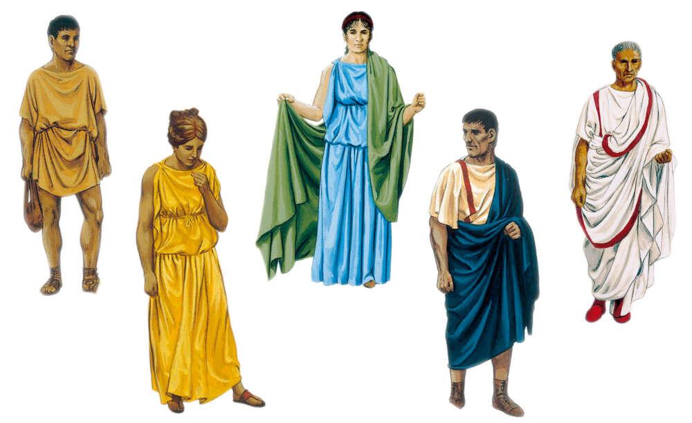 Tuniche Antica Roma